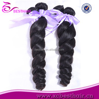 Hot selling wholesale cheap fusion human hair extension weave human hair