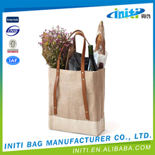 2015 Wholesale 100% Organic Canvas Cotton Bag For Shopping