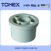 2015 China supplier hydraulic pipe fittings plastic pipe reducer pvc reducing bush