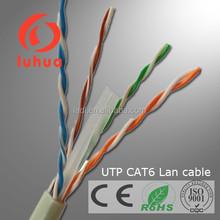 UTP/ftp cat 6 cable 305 m wooden drum