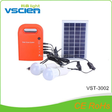 Vsicen New coming stand alone solar home system solar LED indoor light kit