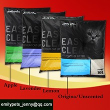2015 Bentonite clumping cat litter ,wholesale bedding,Emilypets of China