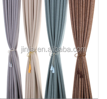 2015 New Classic popular high quality linen window curtain natural linen curtains grey linen curtains