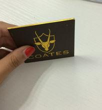 De papel y cartón Material del producto y tarjeta de visita del tipo de producto de papel de frontera tarjetas de visita