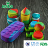 2015 RHS alibaba new arrived oil slick silicone custom containers for wax