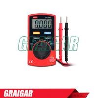 Pocket Size Type Digital Multimeters UNI-T UT120C Super Slim Meter Handheld Digital Multimeters mini digital ac dc voltmeter