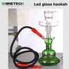 Factory Wholesale al fakher clear glass hookah shisha nargile water pipe glass smoking