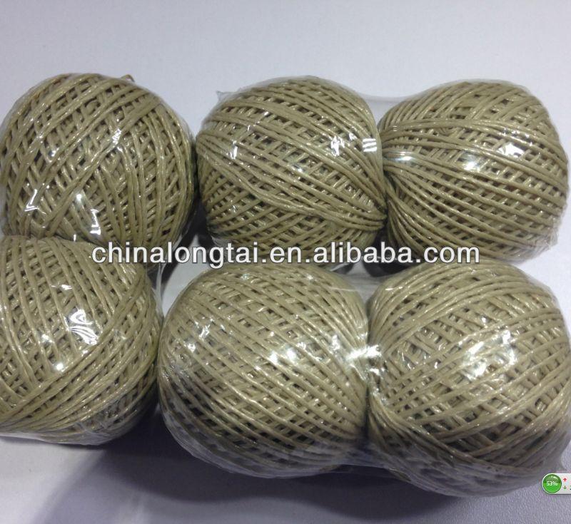 Pp fibrilada fios/costura/6mm virgem fios de fábrica