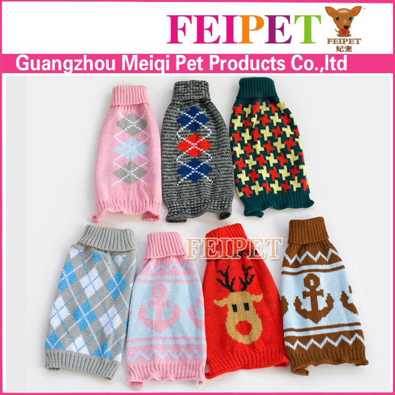 Popular Dog Sweater Free Knitting Pattern Winter Dog Coat Factory