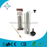 washable stainless steel coffee mill ceramic coffee grinder burr