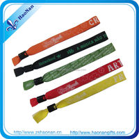 2015 New Product cheap bulk christmas gift China Manufacturer woven bracelet for events decoration