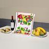 Microfiber tea towel printing,printed tea towel,custom tea towel printing