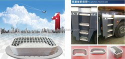 floor step forVehicle , Die-casting aluminum pedal, aluminum die-casting parts, aluminum footstep, aluminum alloy footboard