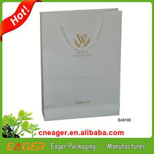 paper carrier bag made in china luxury paper carrier bag