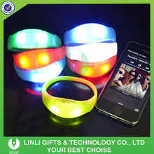 Popular Bright Blinking Led Bracelet,Illumination Led Bracelet, Music Activated Led Wristband
