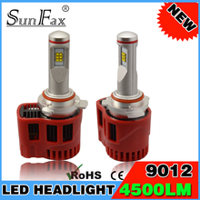 New design P6 90W 9000LM car headlight Led Headlight H7 For German Car Replacement