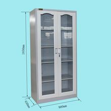 Cyber lock steel glass door laboratory cabinet