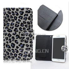new product Leopard grain flip cover case for samsung A3,leather case for samsung A3 with holder,for samsung A3 case