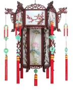 Chinese Antique Furniture Palace Lantern for Decoration