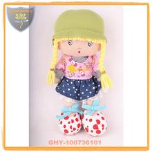 Juguetes de China de fábrica baratos muñeca de trapo 14 pulgadas