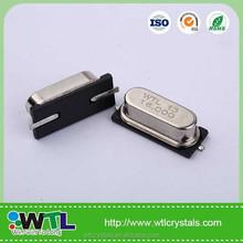 Wtl-zxpf-10379 caliente venta Crystal Oscillator 49SMD 18 mhz cristal de cuarzo oscilador