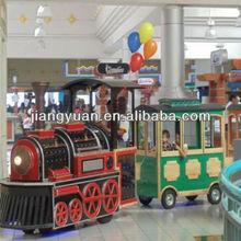 2012 Attractive trackless train for children