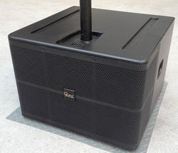 studio sub speaker sw-110s portable passive 10 inch subwoofer