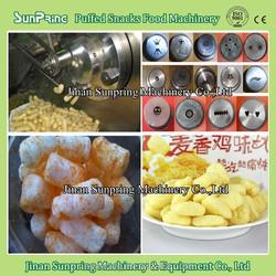 Crispy Extruded Cheese Puff Rice Corn Curl Snacks Machine