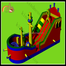 Giant outdoor used jumping castles for sale/jumping castles inflatable water slide for games