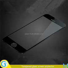 mirror gold tempered glass screen protector for iPhone 6 and iPhone 6 Plus