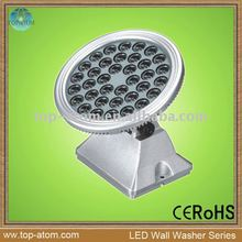 round shape led architectural lighting wall washer