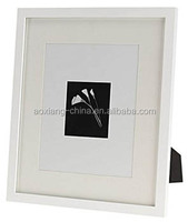 Two usage table top and wall frame Matted for Single opening Wall Picture Frame Sets