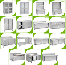 Kitchen designer, stainless steel cabinet for sale