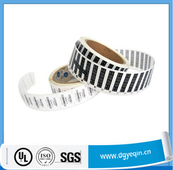 Customized stickers for electronic products