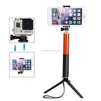 Wireless mobile phone camera monopod bluetooth stick selfie 2015 New Version