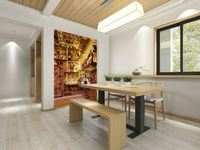 wholesale Eco-friendy 3d huge mural family bar counter for the bedroom sofas tv wallpaper murals