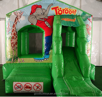 Bouncy castle Benjamin the Elephant/ inflatable Benjamin the Elephant bouncer