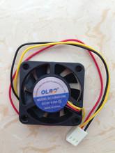 12V 0.1A dual ball bearing silent cooler fan dc brushless cooling fan 40x40x10