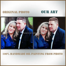 Museum quality oil painting portrait for wall decoration