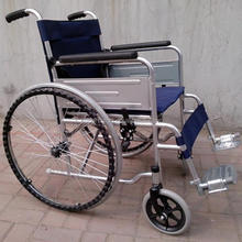 low price high quality manual hospital steel wheelchair