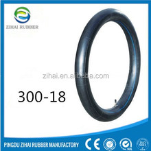 wholesale high quality motorcycle tire inner tube 300-18