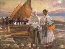 Impressionist famous oil paintings women --Gonzalez Alacreu