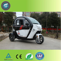 full close type electric tricycle for adults seat