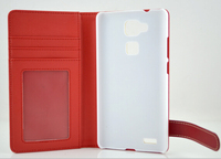 Factory price mobile phone leather case for Huawei Ascend mate 1