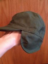 Military Ear-Flap Canvas Cap Men