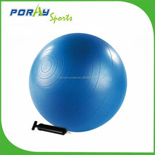 hot sale 65cm anti-burst PVC fitness yoga ball with pump