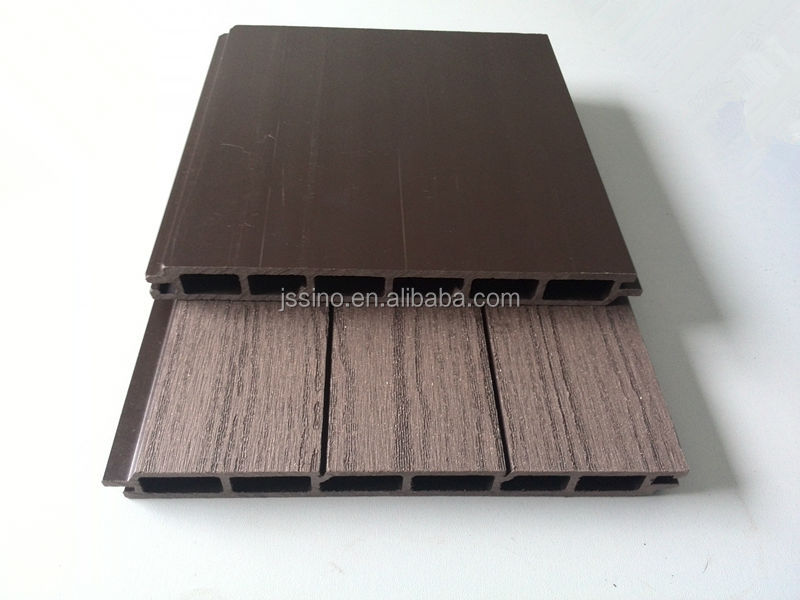 Wood Grain Exterior Construction Material Partition Wall Wpc Wall Cladding Wood Plastic: plastic exterior wall cladding