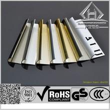 Chromed Anodized Aluminum tile trim