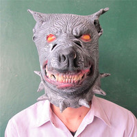 Alibaba Express Realistic monster latex mask,latex mask realistic,wolf mask