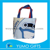 popular child portable shopping non woven bag with small packaging design